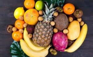 papel de la fruta en el deporte